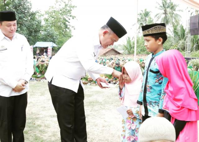 Wabub Pringsewu Hadiri Pelantikan Pengurus Ranting dan Anak Ranting Muslimat NU Kecamatan Gadingrejo