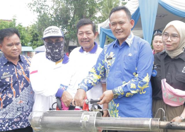 Wakil Bupati Pringsewu Mendukung Kegiatan Pentas Seni dan Bakti Sosial di Pekon Bulurejo