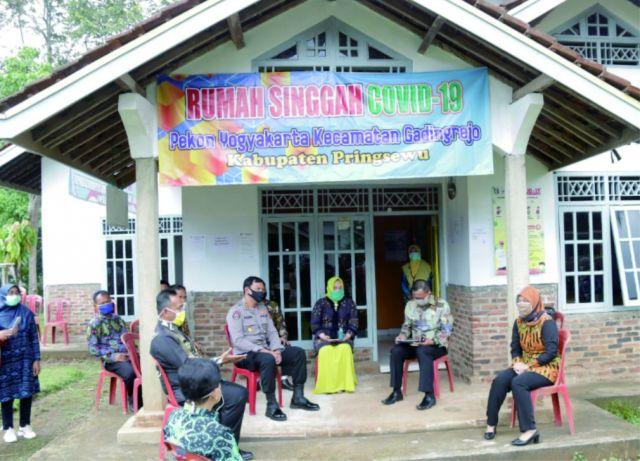 Wagub Lampung & Gugus Tugas Percepatan Penanganan Covid-19 Provinsi Lampung Kunjungi Pringsewu