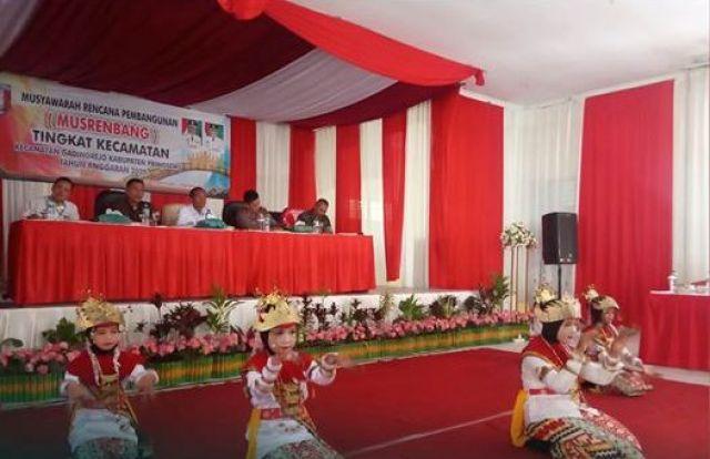 Pembangunan Infrastruktur & Proram Pemberdayaan Sebagai Skala Prioritas dalam Musrenbang Kecamatan Gadingrejo.